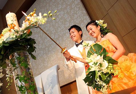 森 拓海・悠子ご夫妻の結婚式レポート