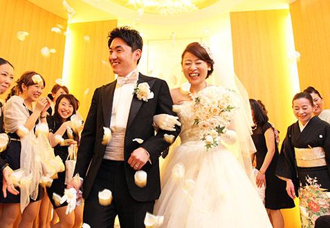 山下 晃司・淡紅子ご夫妻の結婚式レポート