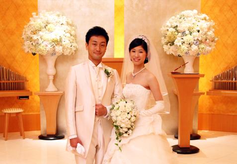 北山 直樹・千咲様ご夫妻の結婚式レポート