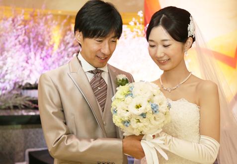 宮田様ご夫妻の結婚式レポート