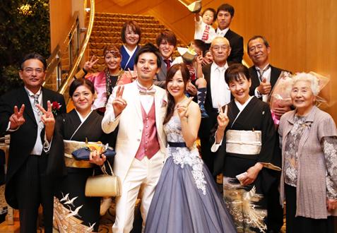 上江州 大周・愛佳様ご夫妻の結婚式レポート
