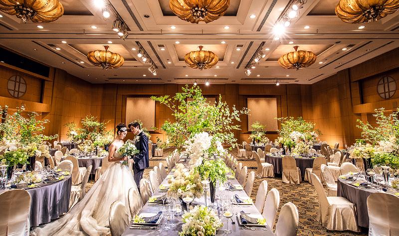披露宴会場 横浜 みなとみらいの結婚式場 ウェディング 横浜ベイ